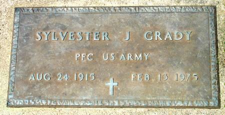 GRADY - U. S. ARMY, SYLVESTER J. - Black Hawk County, Iowa   SYLVESTER J. GRADY - U. S. ARMY