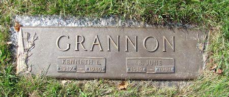 GRANNON, B. JUNE - Black Hawk County, Iowa | B. JUNE GRANNON