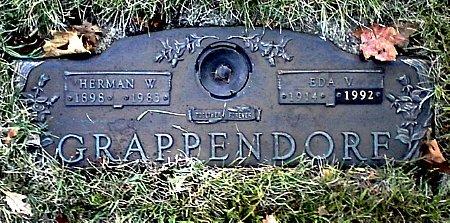 GRAPPENDORF, EDA V. - Black Hawk County, Iowa | EDA V. GRAPPENDORF