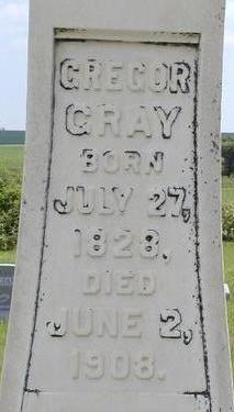 GRAY, GREGOR - Black Hawk County, Iowa | GREGOR GRAY