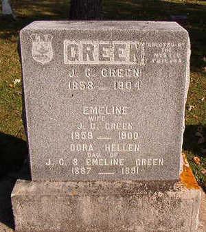 GREEN, EMELINE - Black Hawk County, Iowa | EMELINE GREEN