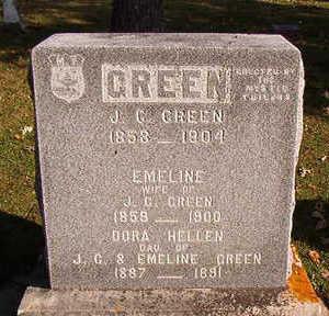 GREEN, J.G. - Black Hawk County, Iowa | J.G. GREEN