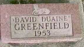 GREENFIELD, DAVID DUAINE - Black Hawk County, Iowa | DAVID DUAINE GREENFIELD