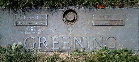 GREENING, HELEN L. - Black Hawk County, Iowa | HELEN L. GREENING