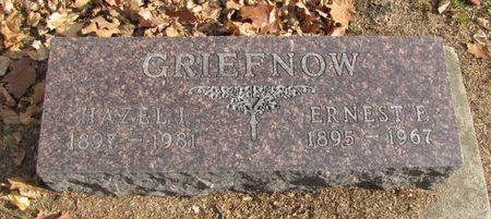 GRIEFNOW, HAZEL I, - Black Hawk County, Iowa | HAZEL I, GRIEFNOW