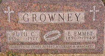 GROWNEY, RUTH C. - Black Hawk County, Iowa   RUTH C. GROWNEY