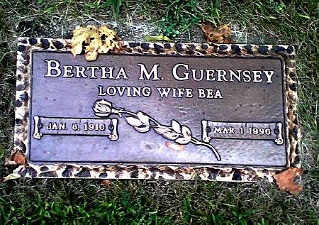 GUERNSEY, BERTHA M. - Black Hawk County, Iowa | BERTHA M. GUERNSEY