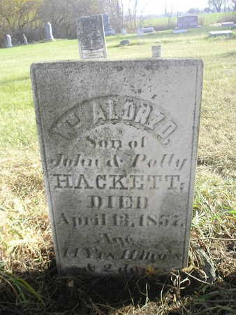 HACKETT, WM ALONZO - Black Hawk County, Iowa | WM ALONZO HACKETT
