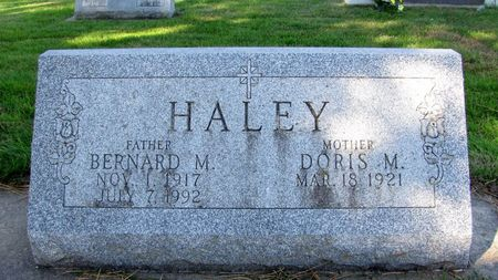 HALEY, BERNARD MICHAEL - Black Hawk County, Iowa | BERNARD MICHAEL HALEY