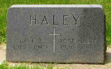 HALEY, DALE B. - Black Hawk County, Iowa | DALE B. HALEY