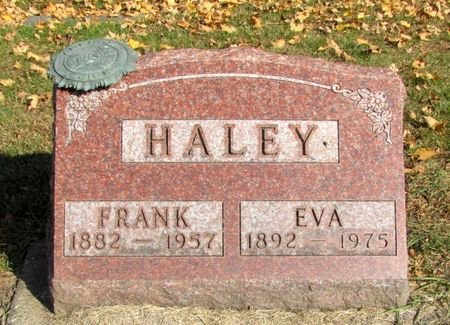 HALEY, FRANK - Black Hawk County, Iowa | FRANK HALEY
