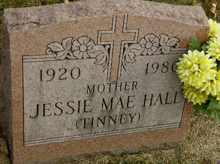 TINNEY HALL, JESSIE MAE - Black Hawk County, Iowa | JESSIE MAE TINNEY HALL