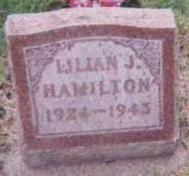 HAMILTON, LILLIAN J. - Black Hawk County, Iowa | LILLIAN J. HAMILTON