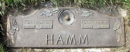 HAMM, ARTHUR E. - Black Hawk County, Iowa | ARTHUR E. HAMM