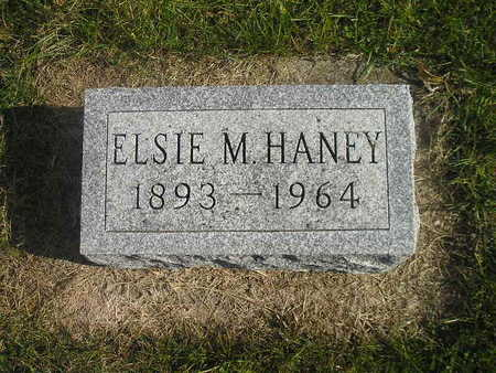 HANEY, ELSIE M - Black Hawk County, Iowa | ELSIE M HANEY
