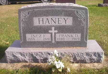 HANEY, INEZ F - Black Hawk County, Iowa | INEZ F HANEY