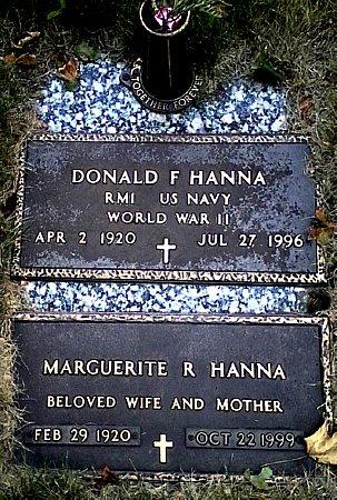 HANNA, DONALD F. - Black Hawk County, Iowa | DONALD F. HANNA