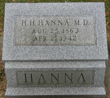 HANNA, H. H. - Black Hawk County, Iowa | H. H. HANNA