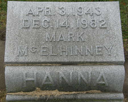 HANNA, MARK MCELHINNEY - Black Hawk County, Iowa | MARK MCELHINNEY HANNA