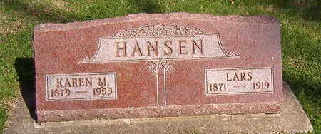 HANSEN, LARS - Black Hawk County, Iowa   LARS HANSEN