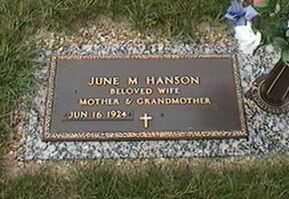 HANSON, JUNE M. - Black Hawk County, Iowa | JUNE M. HANSON