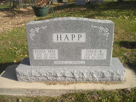 HAPP, ELIDA MAE - Black Hawk County, Iowa   ELIDA MAE HAPP