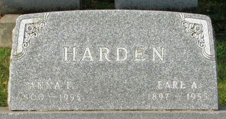 HARDEN, ANNA F. - Black Hawk County, Iowa | ANNA F. HARDEN