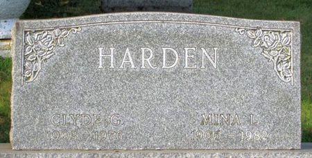 HARDEN, MINA L. - Black Hawk County, Iowa | MINA L. HARDEN