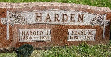 HARDEN, HAROLD J. - Black Hawk County, Iowa | HAROLD J. HARDEN