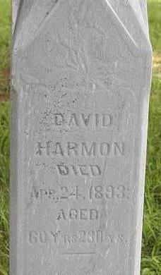HARMON, DAVID - Black Hawk County, Iowa | DAVID HARMON