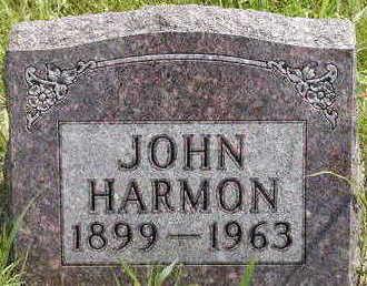 HARMON, JOHN - Black Hawk County, Iowa | JOHN HARMON