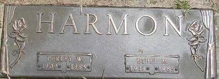 HARMON, PURLEY W. - Black Hawk County, Iowa | PURLEY W. HARMON
