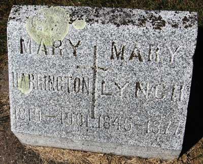 HARRINGTON, MARY - Black Hawk County, Iowa | MARY HARRINGTON