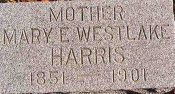 HARRIS, MARY E. - Black Hawk County, Iowa | MARY E. HARRIS