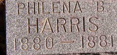 HARRIS, PHILENA B. - Black Hawk County, Iowa | PHILENA B. HARRIS