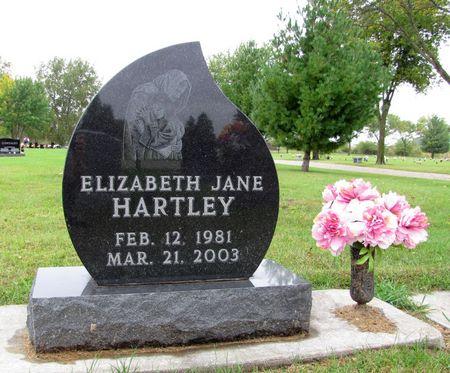 HARTLEY, ELIZABETH JANE - Black Hawk County, Iowa   ELIZABETH JANE HARTLEY