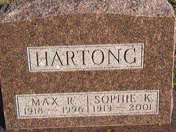 HARTONG, MAX R. - Black Hawk County, Iowa | MAX R. HARTONG