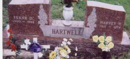 HARTWELL, HARVEY W. - Black Hawk County, Iowa   HARVEY W. HARTWELL
