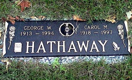 HATHAWAY, CAROL M. - Black Hawk County, Iowa | CAROL M. HATHAWAY