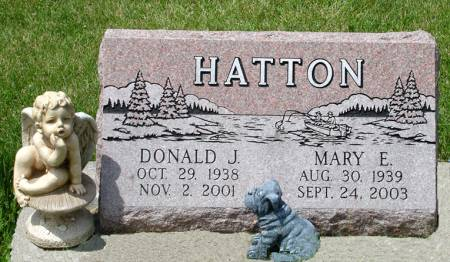 HATTON, MARY E. - Black Hawk County, Iowa | MARY E. HATTON