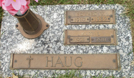 HAUG, EDWARD W. - Black Hawk County, Iowa | EDWARD W. HAUG