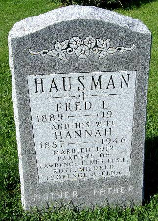 HAUSMAN, FRED L. - Black Hawk County, Iowa | FRED L. HAUSMAN