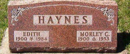 HAYNES, EDITH - Black Hawk County, Iowa | EDITH HAYNES