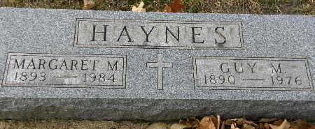 HAYNES, GUY M. - Black Hawk County, Iowa | GUY M. HAYNES