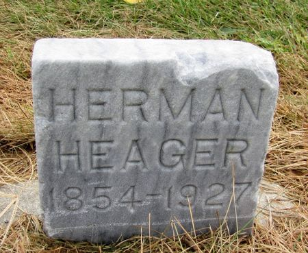 HEAGER, HERMAN - Black Hawk County, Iowa | HERMAN HEAGER