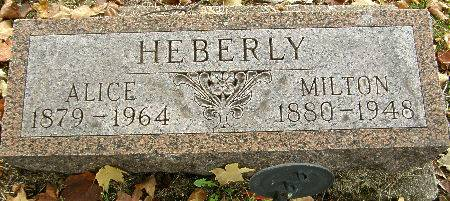 HEBERLY, MILTON - Black Hawk County, Iowa | MILTON HEBERLY