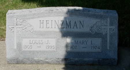 HEINZMAN, LOUIS J. - Black Hawk County, Iowa | LOUIS J. HEINZMAN
