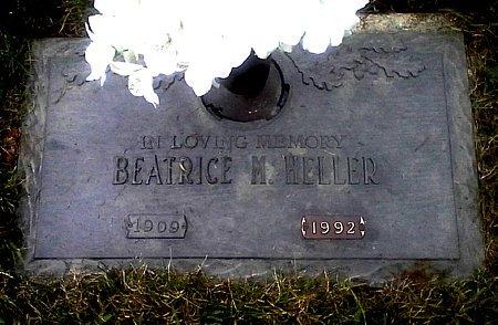 HELLER, BEATRICE M. - Black Hawk County, Iowa | BEATRICE M. HELLER