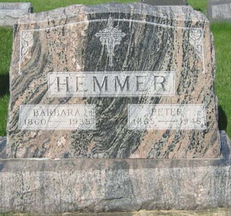 HEMMER, BARBARA - Black Hawk County, Iowa | BARBARA HEMMER
