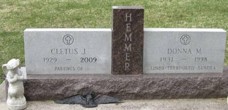 HEMMER, DONNA M. - Black Hawk County, Iowa | DONNA M. HEMMER